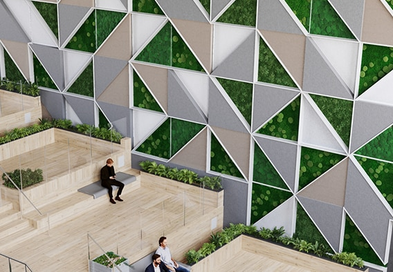 Decorative-Moss-Mosaic