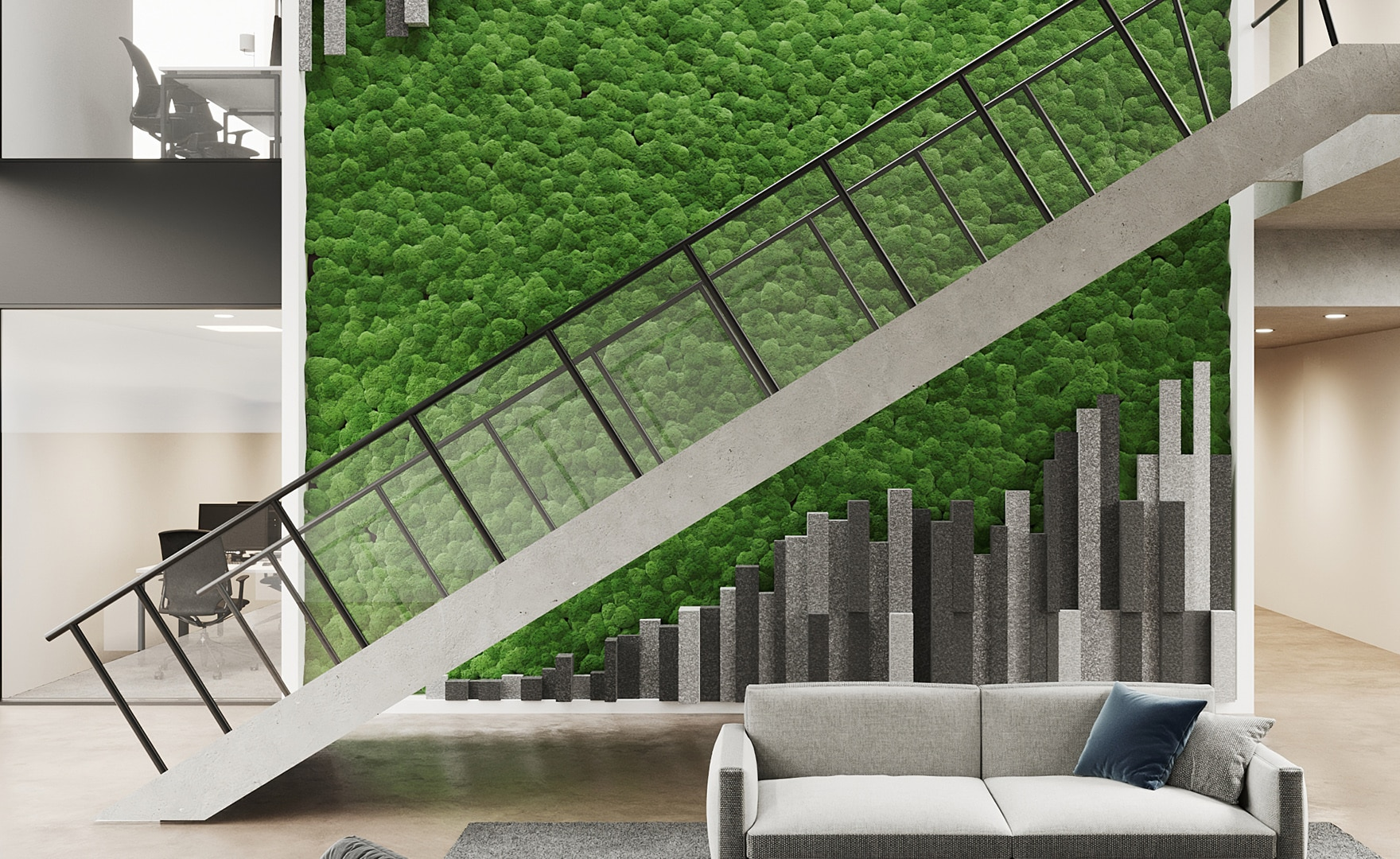 Quiet Earth Moss - Home Feature 4