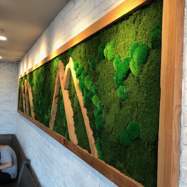 Restaurant-Mixed Moss w Wood